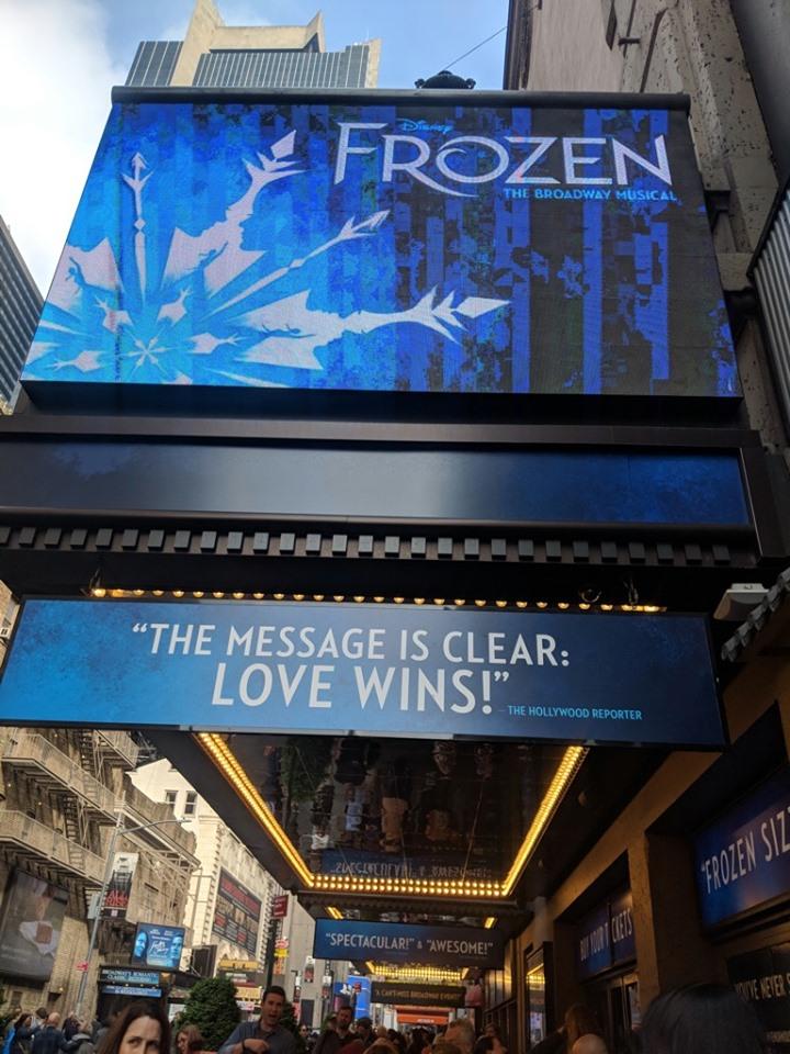 Frozen the musical london 2020