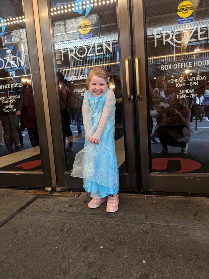 frozen theatre royal drury lane london