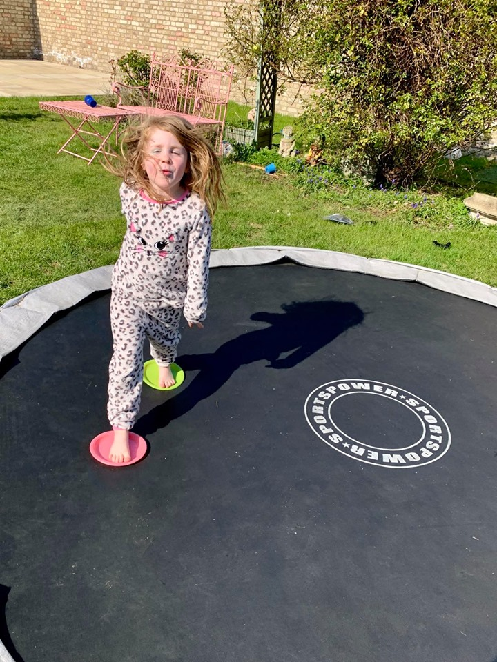 easy games to play on a trampoline