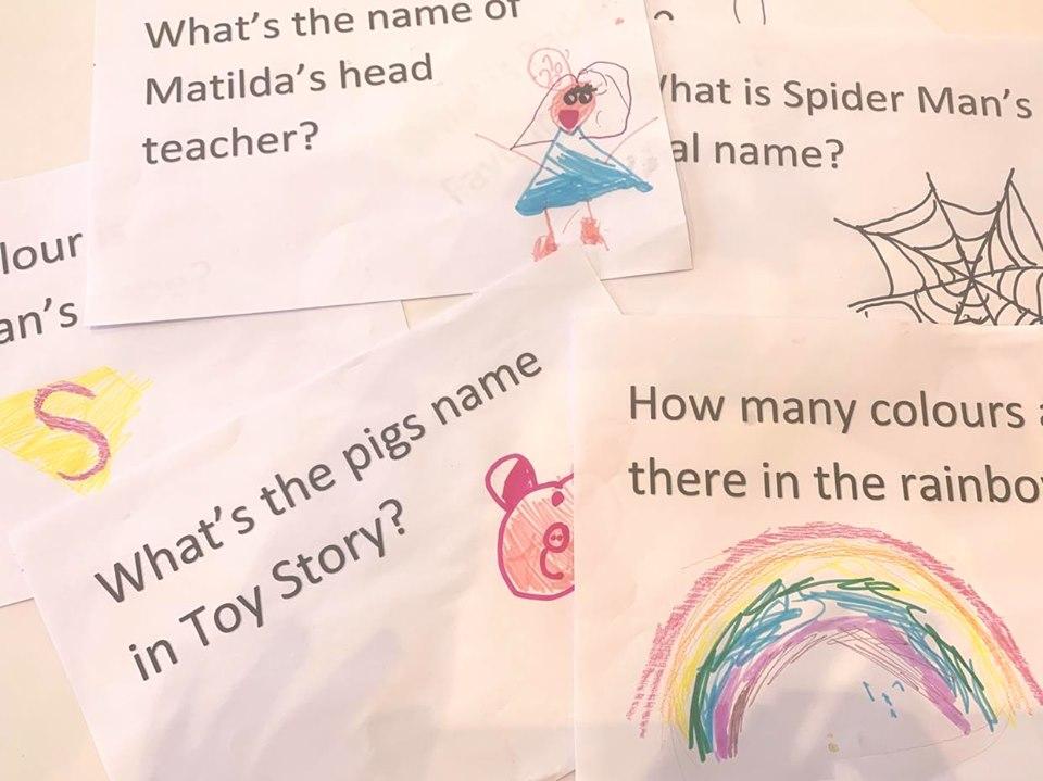 zoom quiz for children