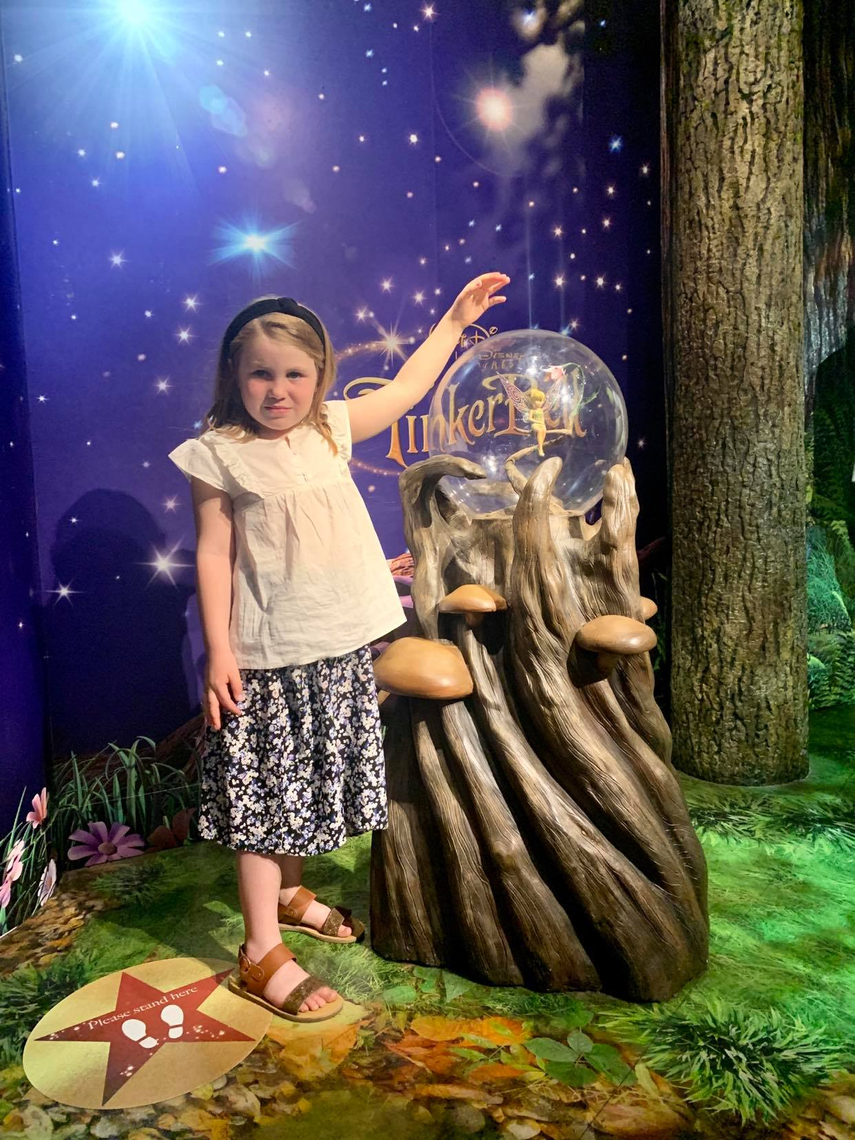 36 hours in london with kids, a suffolk  mum blog, meeting tinkerbell at madame tussauds