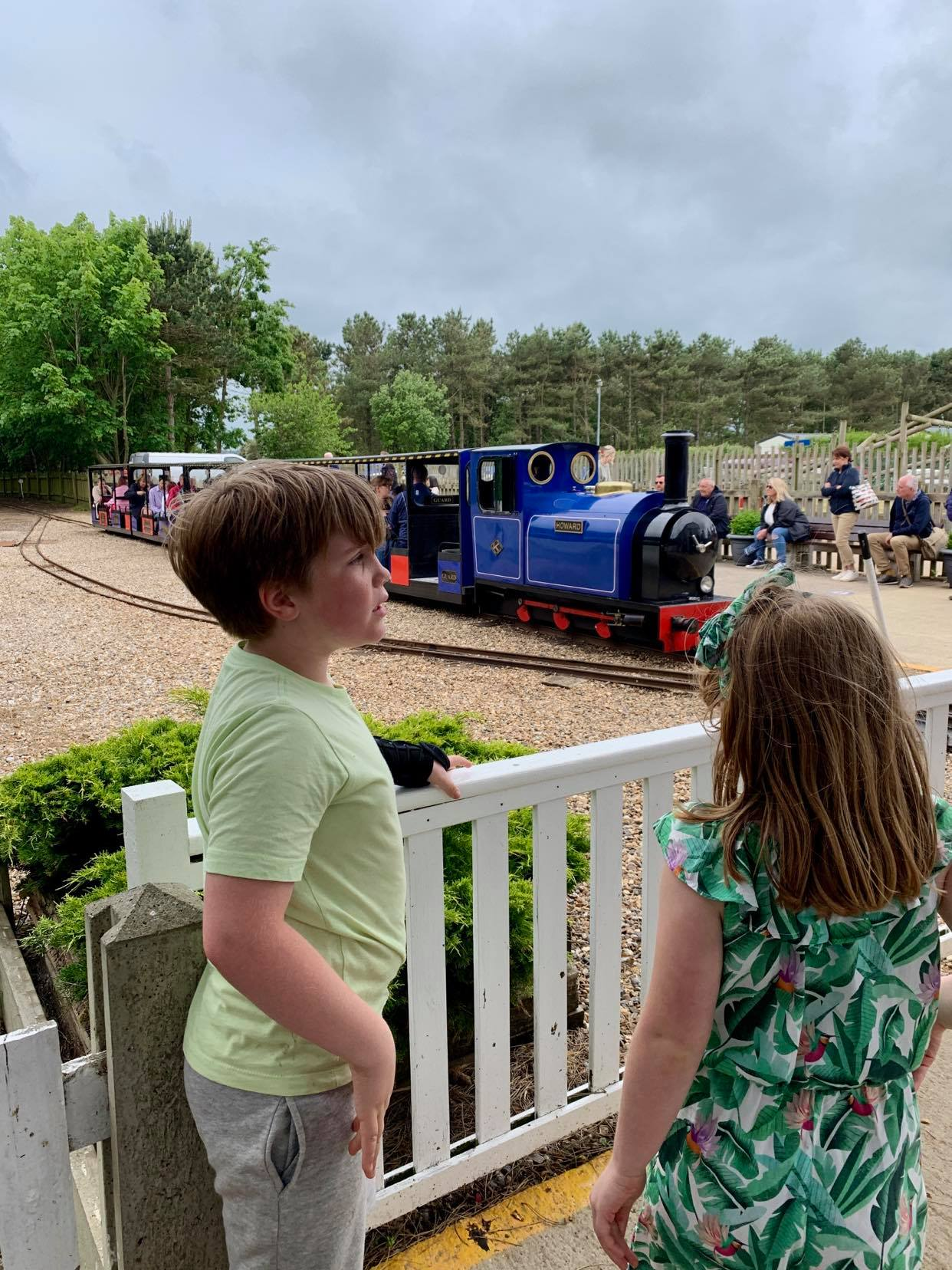 Getting the train at wells next to the sea, a suffolk mum holiday review