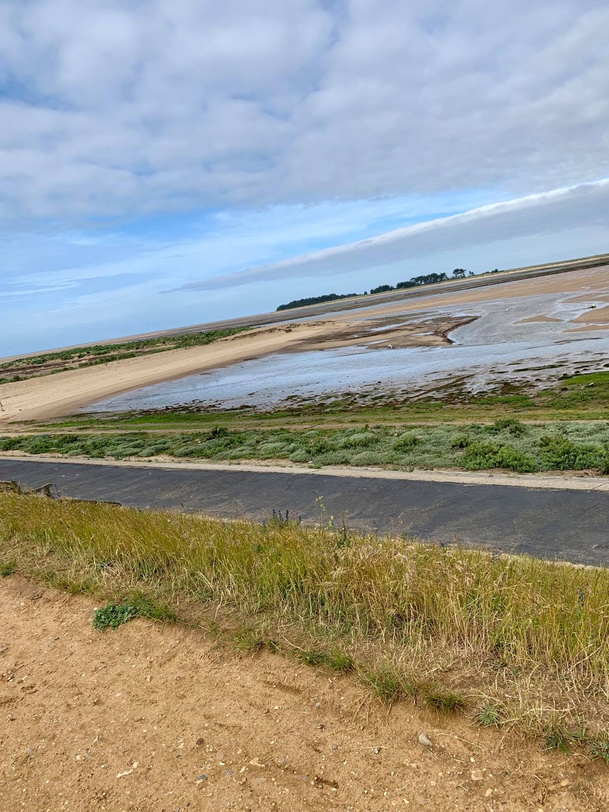 wells next to the sea, coast road walk, our pinewoods holiday review