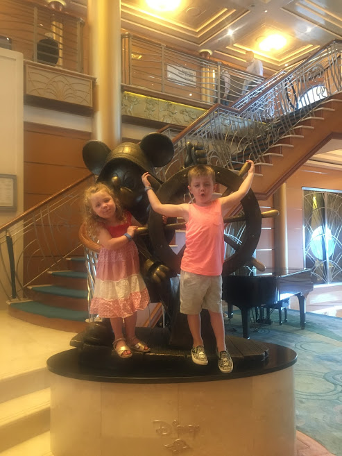Disney cruise uk, Pictures in the foyer, a suffolk mum blog, family review