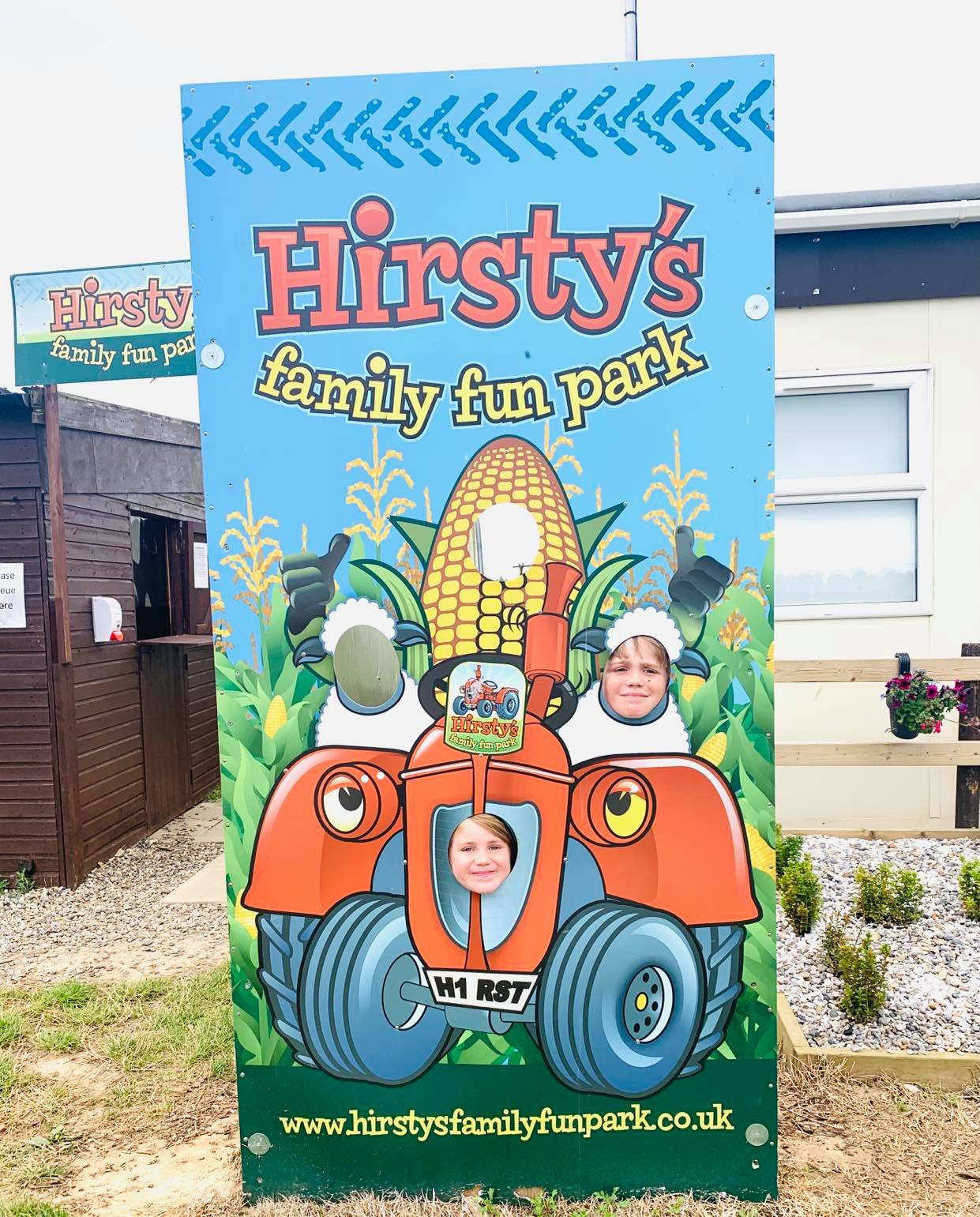 hirstys family fun park, hemsby review